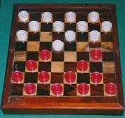 old Draughts board