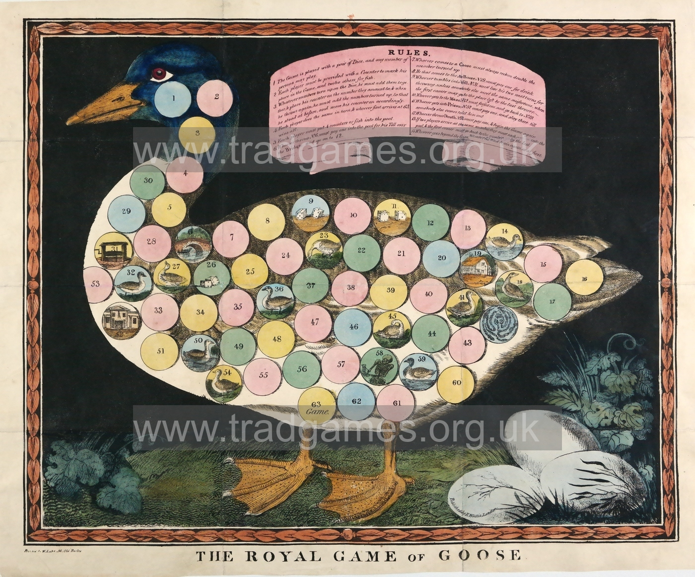 The Royal Game of Goose