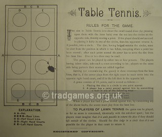 Table Tennis - Counter Game